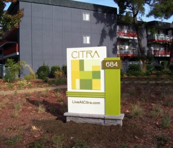 Citra Monument Sign