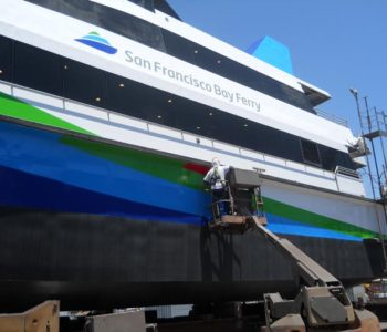 Ferry Boat Graphic Wrap