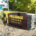 Hillsdale Square Monument Sign