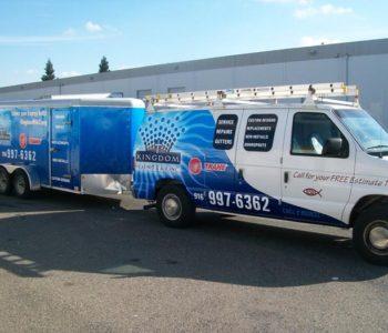 Repair Truck Vehicle Wrap
