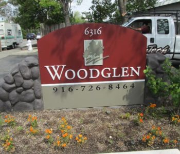 Woodglen Monument Sign