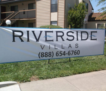 Apartment Complex Leasing Office Banner