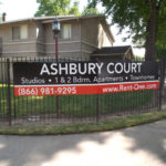 Ashbury Court Townhome Banner Sign