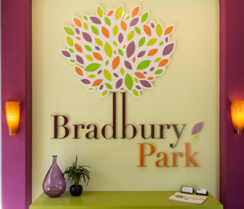 Bradbury Park Office Wall Lettering