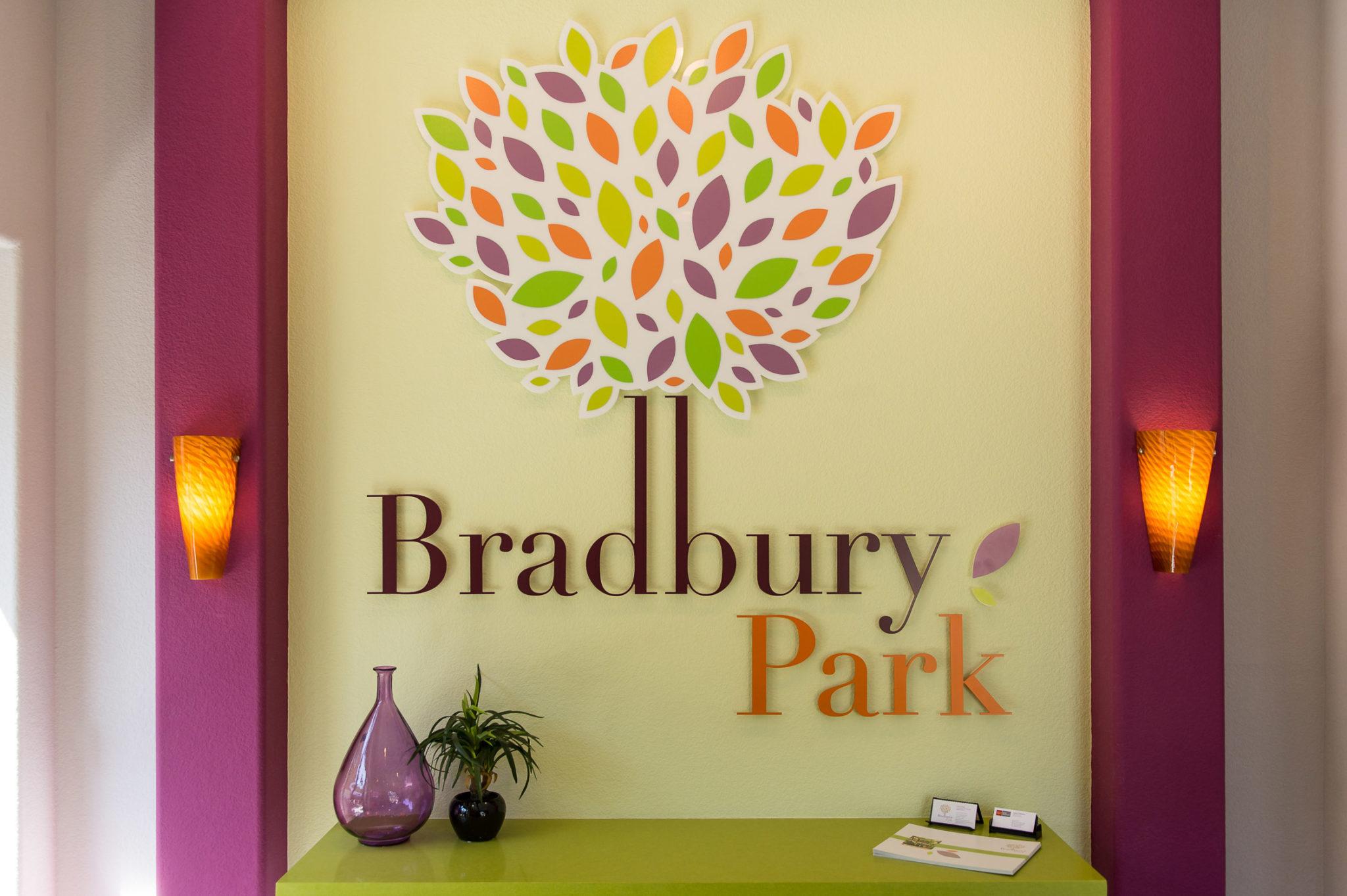 Bradbury Park Office Wall Lettering