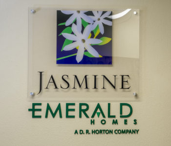 Emerald Homes Wall Lettering