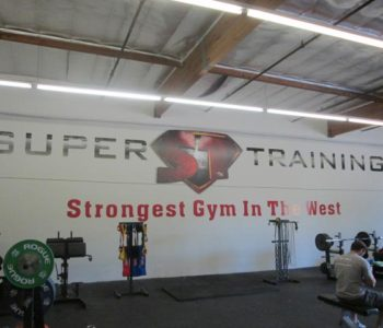 Gym Wall Mural