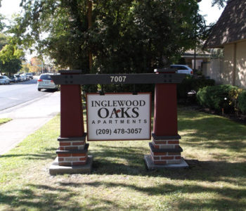 Inglewood Apartment Homes Monument Sign