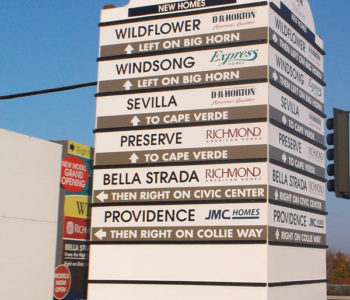 Monument Outdoor Signage