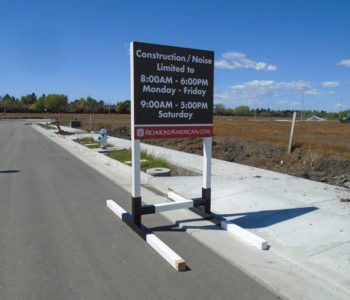 Onsite Construction Sign