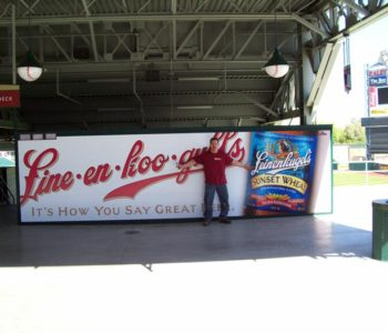 Sports Beer Large Format Printing Signage