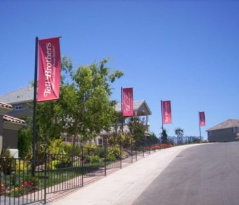 Toll brothers banner flags