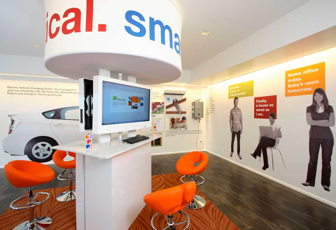 spaces sales office design