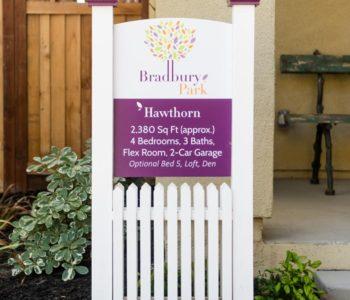 Bradbury Park Multifamily Signage