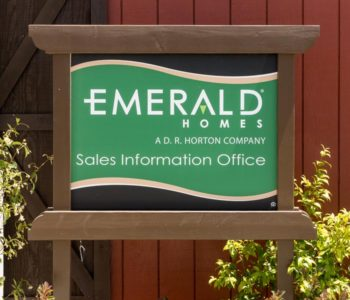 Emerald Homes Outside Signage