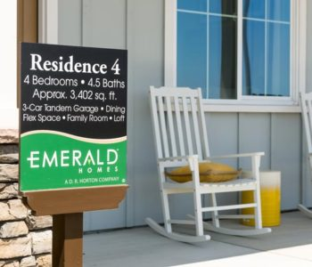 Emerald Homes Small Sign
