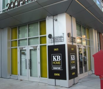 KB Home Outdoor Signs