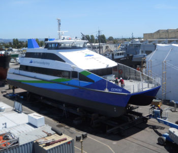 San Francisco Bay Ferry Boat Wrap