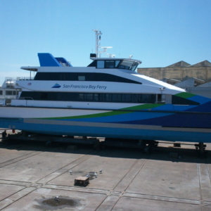 San Francisco Ferry Boat Wrap