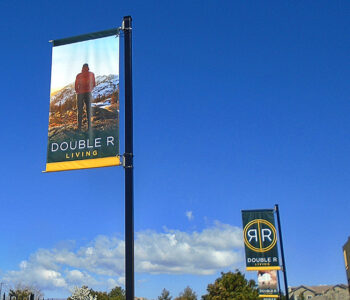Double R Banner Flags