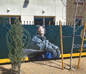 Double R Fence Banner